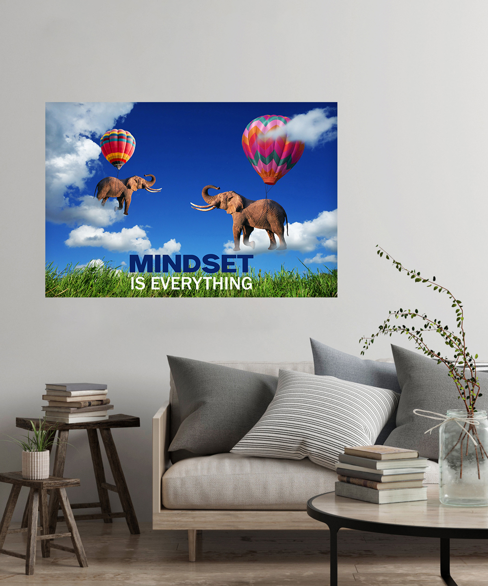 flying elephant